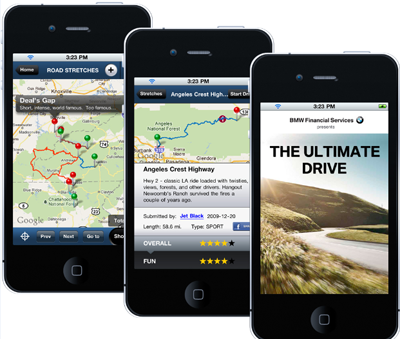 BMW Group Financial Services speeds into social navigation